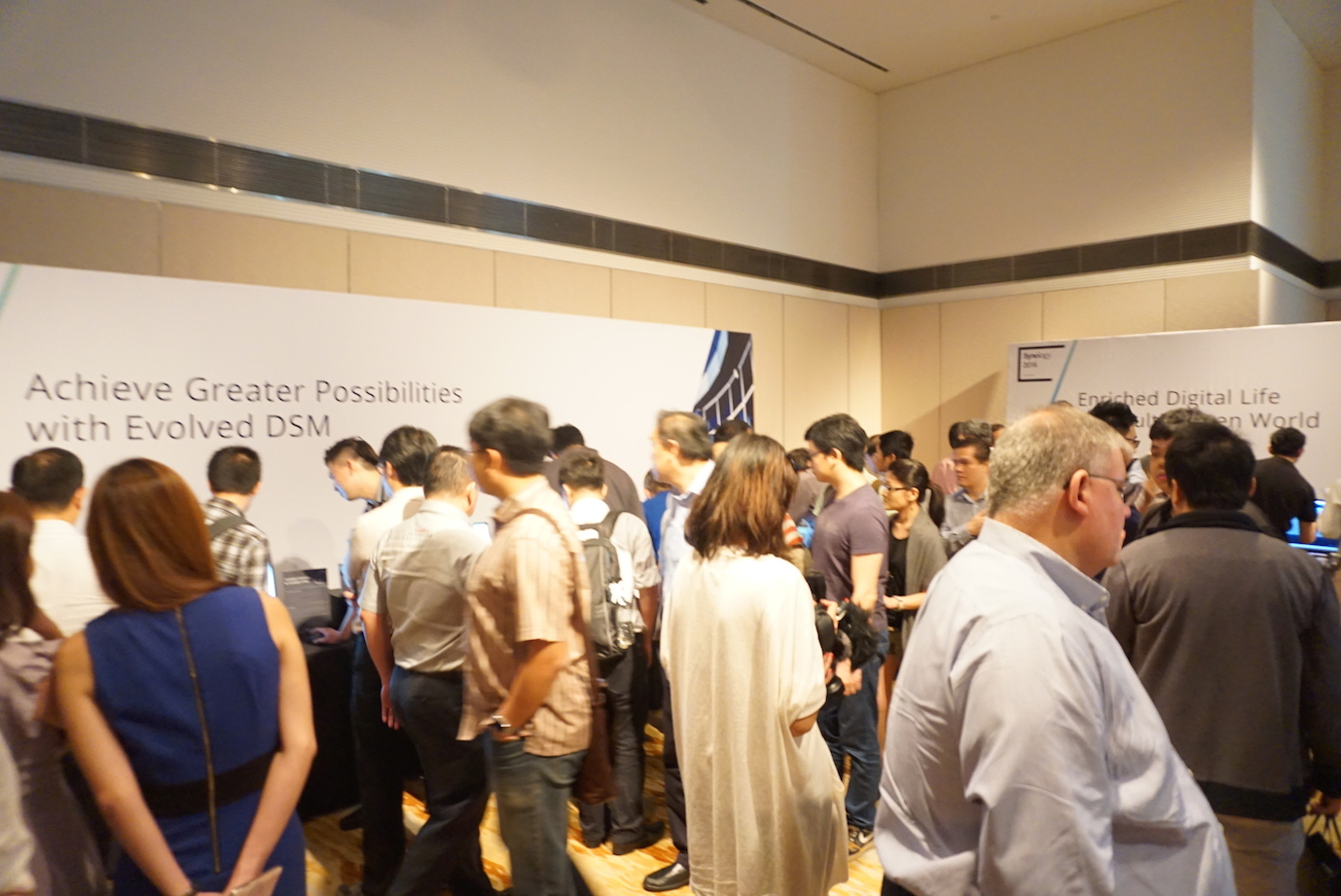 Synology 2016 annual conference in Singapore on September 16